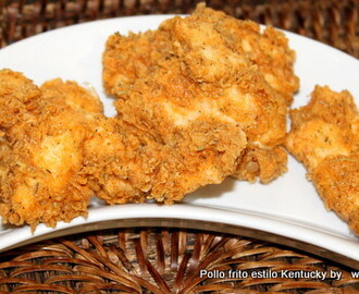 Pollo frito estilo Kentucky