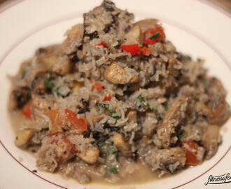 Low Carb Risotto mit No Carb Reis