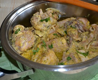 POLLO IN FRICASSEA