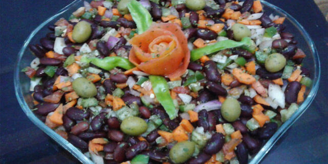 Bean Salad with Olives and Herbs Recipe