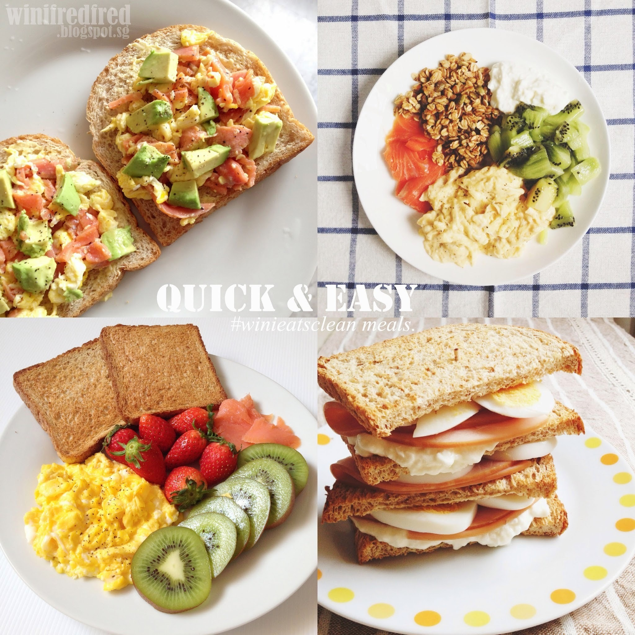 Quick, easy & healthy meals..for busy people like me & you!