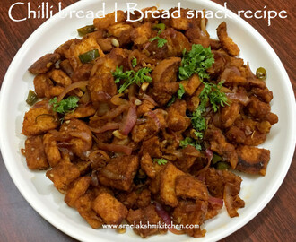 Chilli bread | Break snack recipe