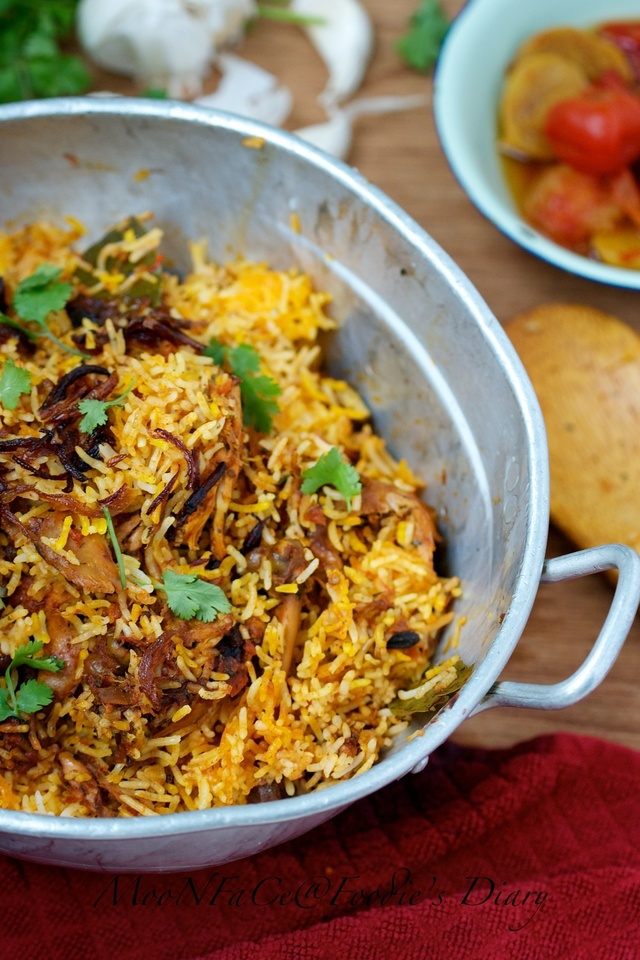 Chicken Biryani : The Bridge to India