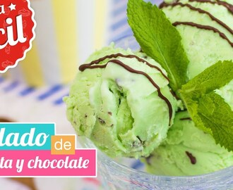 HELADO DE MENTA Y CHOCOLATE | CHOCO MINT ICE CREAM | Quiero Cupcakes!