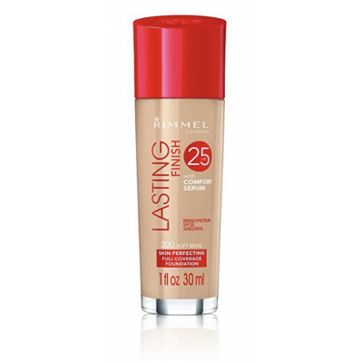 Rimmel Lasting Finish 25h Foundation With Comfort Serum 200 Soft Beige 30 ml