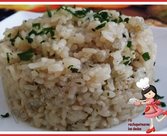 *Arroz blanco para guarnición (Olla GM-E)