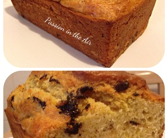 PLUMCAKE  LIGHT AL LIMONE,  YOGURT E PEPITE DI CIOCCOLATO