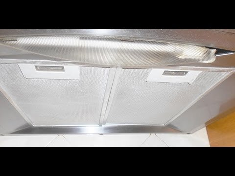 LIMPIAR LA CAMPANA EXTRACTORA SIN ESFUERZO/ Clean your range hood without effort