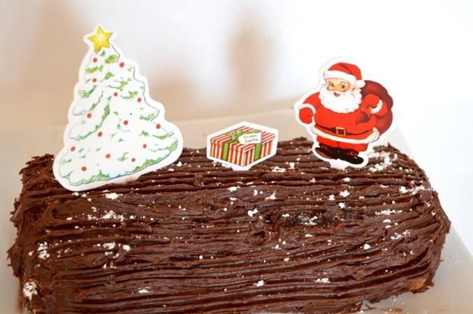 Gluten and Dairy Free Yule Log