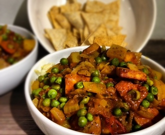 Pea and Paneer Curry