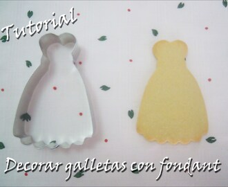 Tutorial: Distintas Formas de Decorar Galletas con Fondant