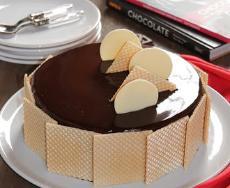 Tarta mousse de chocolate al 70%