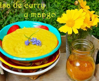 SALSA DE CURRY Y MANGO