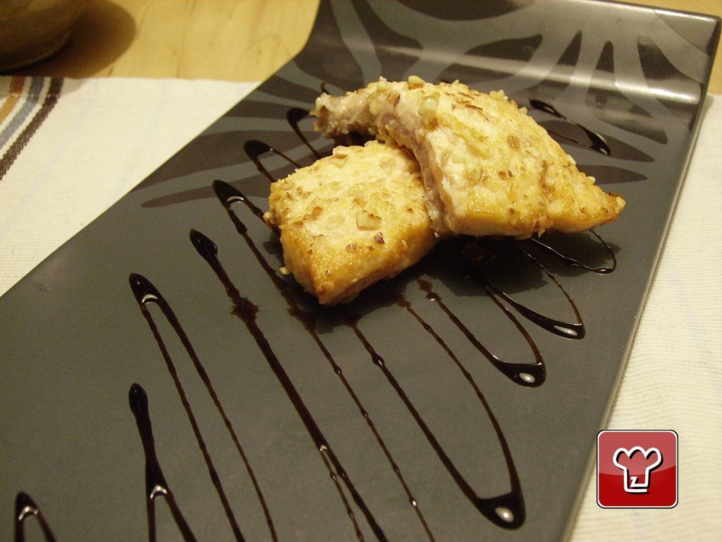 Salmone in crosta di Mandorle e Sale integrale