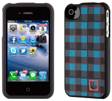 SPECK iPhone 4 Burton Argon Plaid