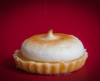 Mini tartaletas de limón y merengue