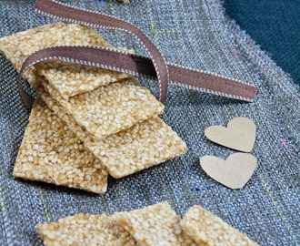 Barrette di sesamo / Homemade sesame bars
