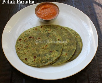 Palak Paratha | Easy Paratha Recipes