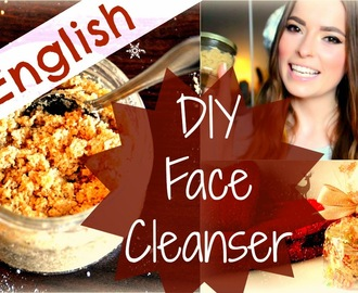 Homemade Beauty Products: Natural DIY Face Cleanser, Scrub and Mask ENGLISH VIDEO