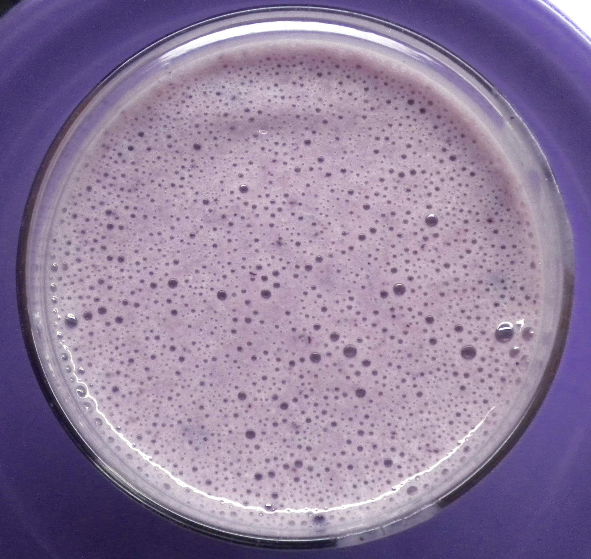 Purple milkshake