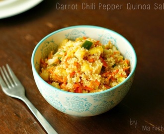 Carrot Chili Pepper Quinoa Salad