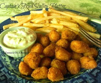 Captain's Fried Scallop Platter