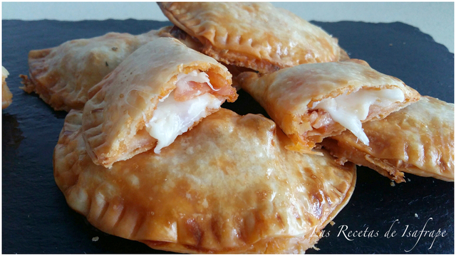 Empanadillas de pizza
