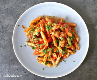 Penne all Arrabiata met kip – recept