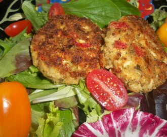 Sicily, Leftovers, and Chicken Cakes
