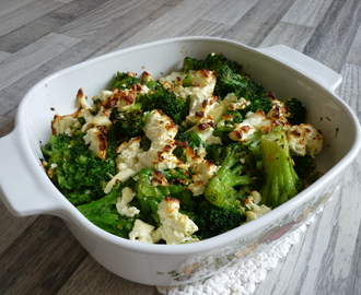 Broccoli Tofu Gratin
