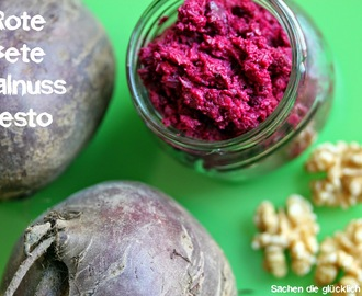 Rote Bete Walnuss Pesto