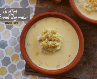 Stuffed Bread Rasmalai | Easy Indian Dessert Recipe | Flavour Diary