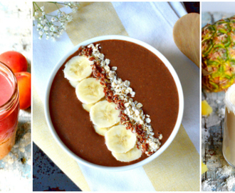 Top 10 Smoothies & Smoothie Bowls « Healthy »