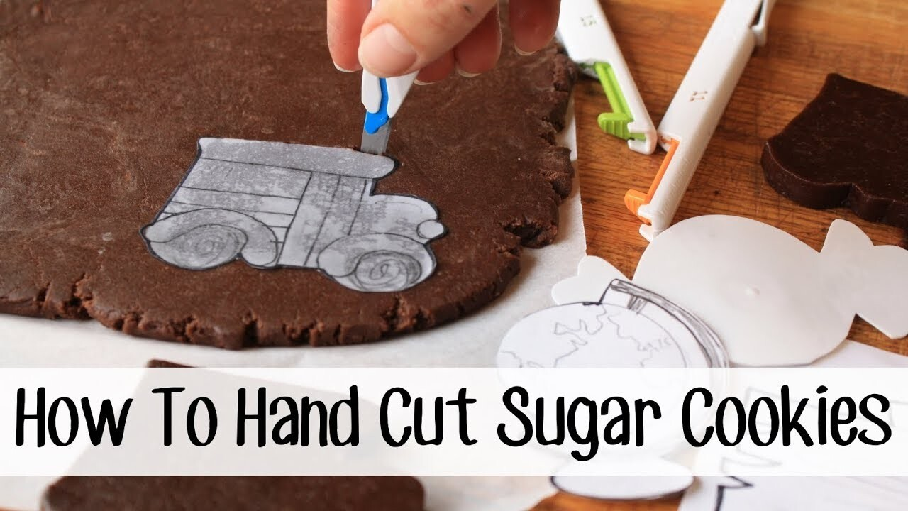 How to Hand Cut Custom Sugar Cookie Shapes