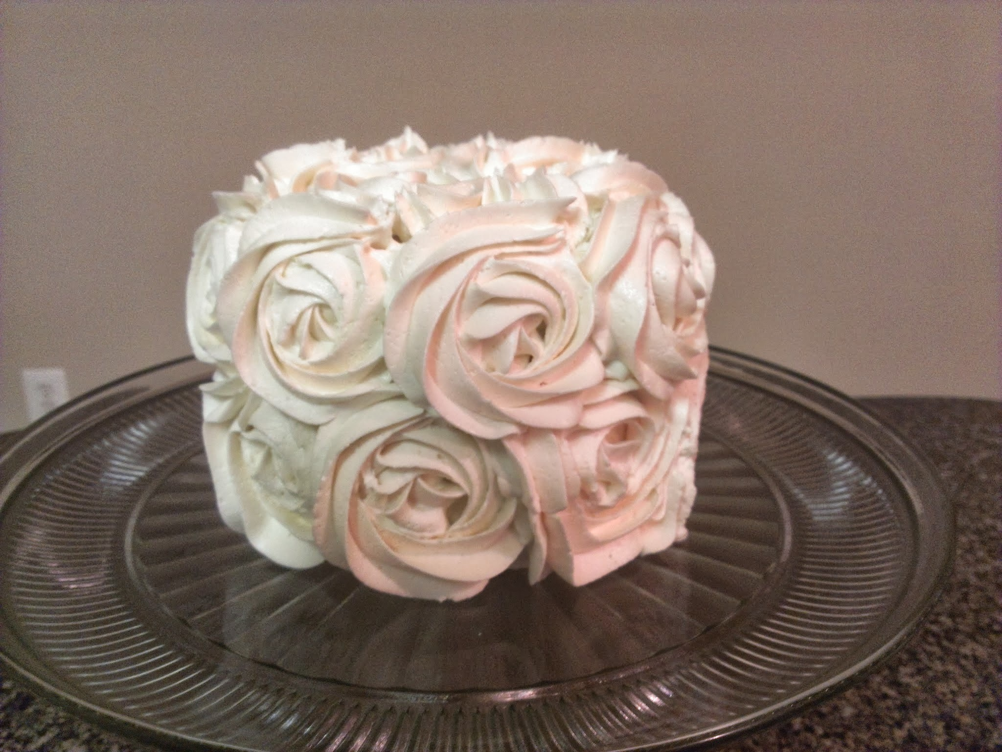 Chocolate Cake with Vanilla Buttercream Icing