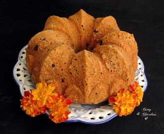 Bizcocho de calabaza con pepitas de chocolate - Pumpkin chocolate chip bundt cake