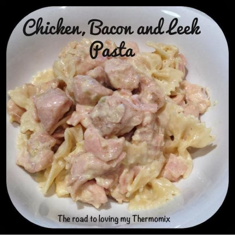 Chicken, Bacon and Leek Pasta