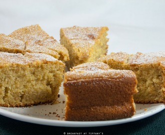 Ciambellone integrale allo yogurt / Whole wheat and yogurt bundt cake recipe