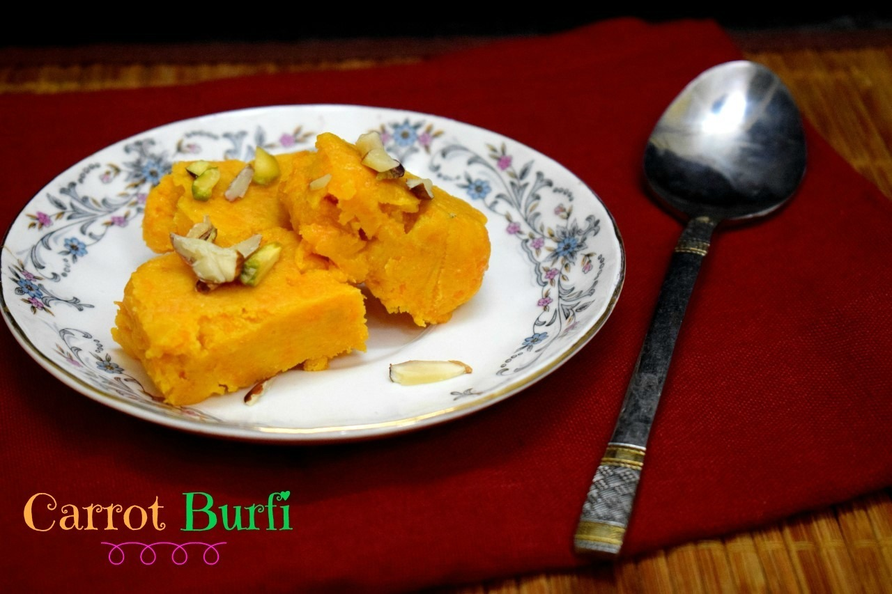 Carrot Burfi | How to make Gajar Barfi
