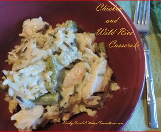Easy Chicken and Wild Rice Casserole Recipe