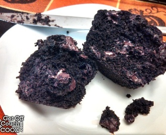 Dark Chocolate Muffins