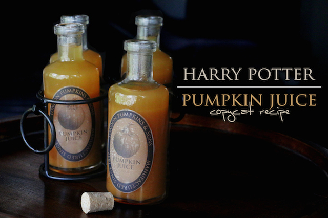Copycat Wizarding World of Harry Potter Pumpkin Juice recipe