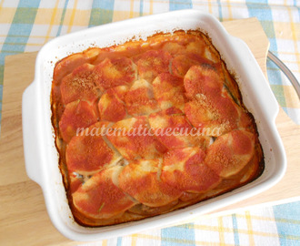 Tortino di Alici con Patate