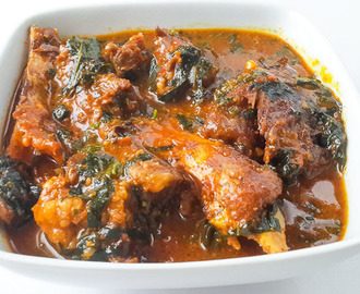 delicious and nutty ogbono soup