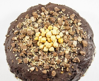 Torta simil Ferrero Rocher / Ferrero Rocher cake recipe