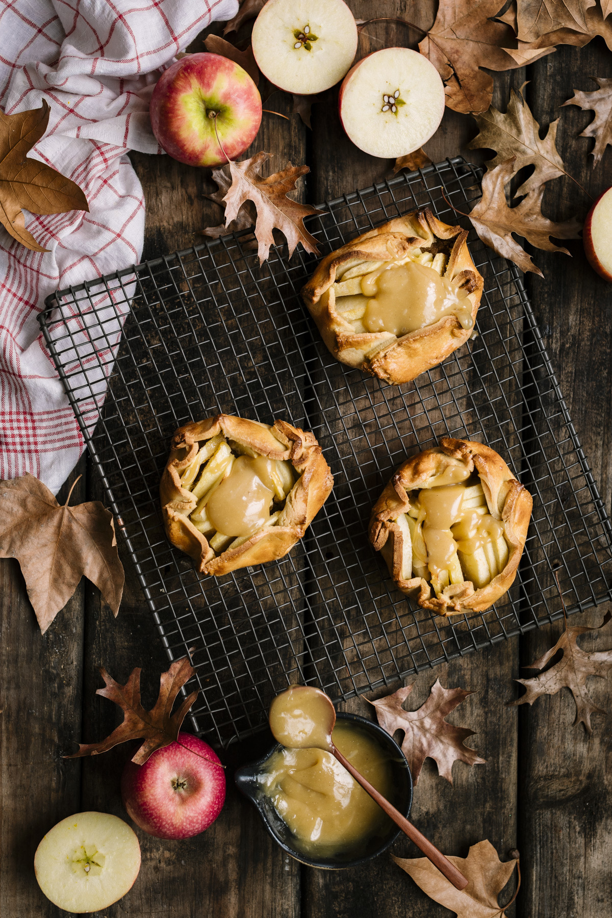 heinstirred wrote a new post, Pink Lady® Apple Galettes with Spelt Crusts and Tahini Butterscotch Sauce, on the site heinstirred