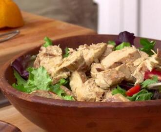Friday's Special Grilled Chicken Salad with Honey Orange Dressing