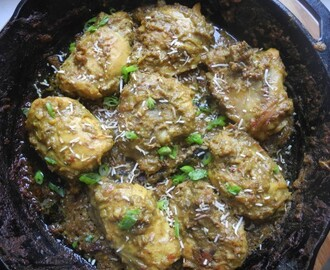 Chicken Rendang (Indonesian Dry Chicken Curry)