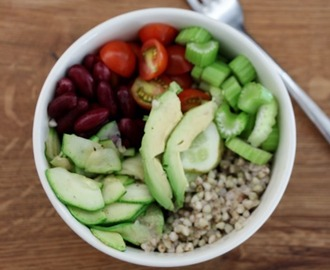 Raw Summer Veggie Bowl mit Kürbiskerndressing –Goodbye Sommer Teil II