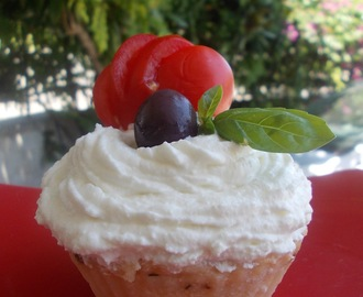 Cupcakes salati con patate e ricotta (Cupcakes with mashed potatoes and ricotta cheese)
